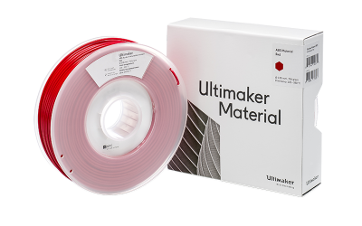 Ultimaker ABS red with box