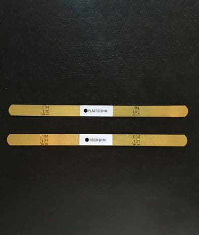 Replacement Levelliing Shims