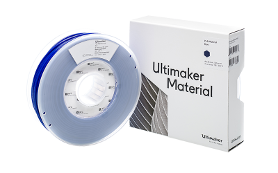Ultimaker PLA Blue Filament with Box