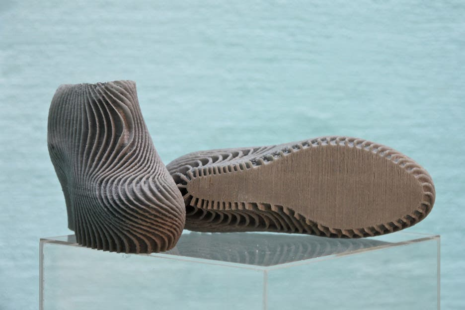 High heels made with 3D printing