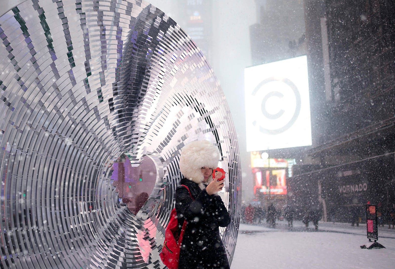window to the heart times square