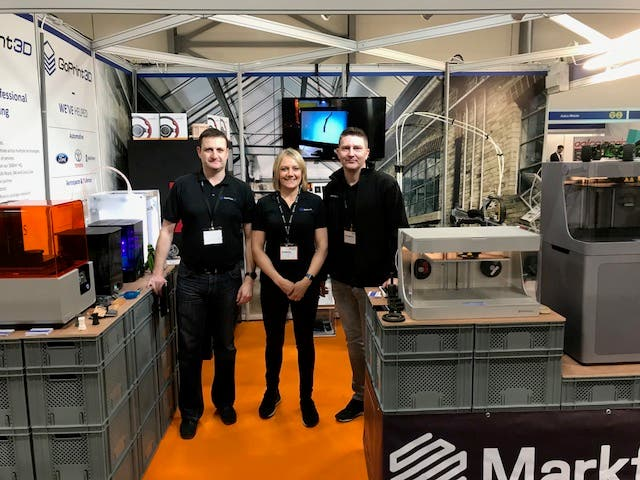 The GoPrint3D Team at Southern Manufacturing 2018