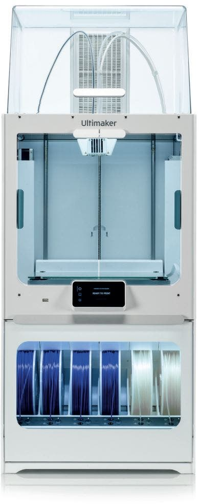Ultimaker S5 Material Station and Air Manager
